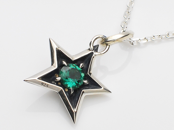 .ROCK STAR PENDANT/SV.