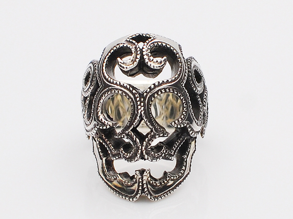 SURVIVE SKULL RING UT