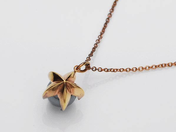 .RISING STAR PENDANT/GOLD.