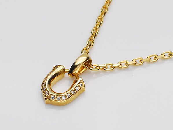 MICRO HIGH-ROLLER PENDANT/GOLD