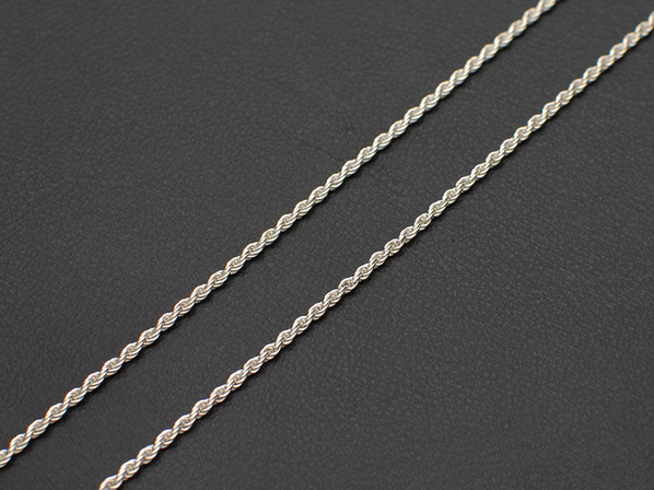 .FRENCH ROPE CHAIN 30/50cm.