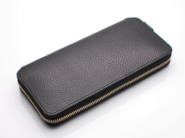 LONG ZIP WALLET/BLACK