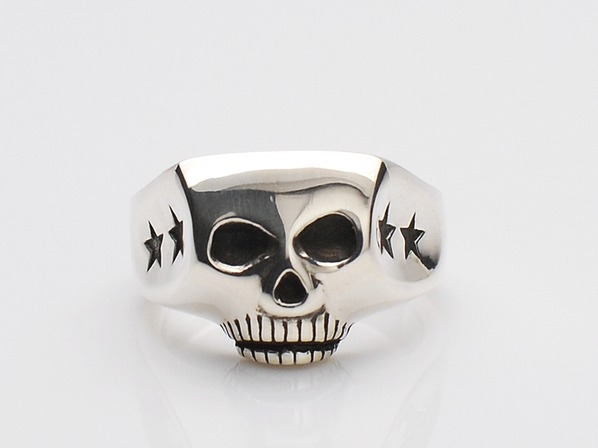 JIM SKULL RING/FOUR STAR