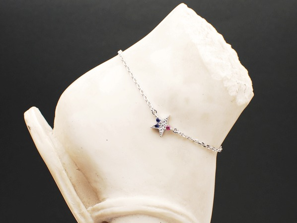 TRICO STAR ANKLET