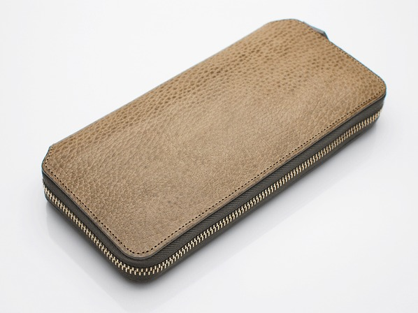 LONG ZIP WALLET/GRAY