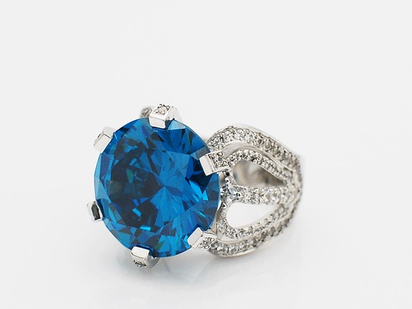 .JACQUELINE RING/BLUE.