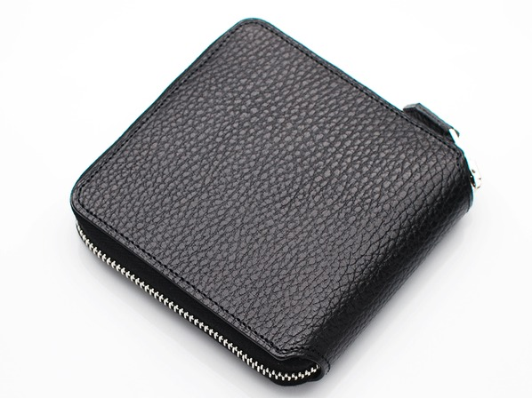 SQUARE WALLET/BLACK