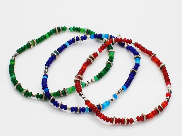 Color Quartz Anklet