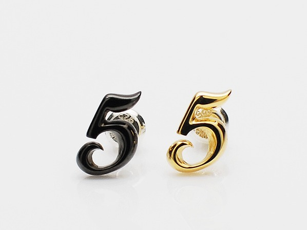 LUCKY NUMBER PIERCE(5)