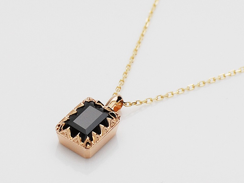 JOLI NECKLACE/BLACK