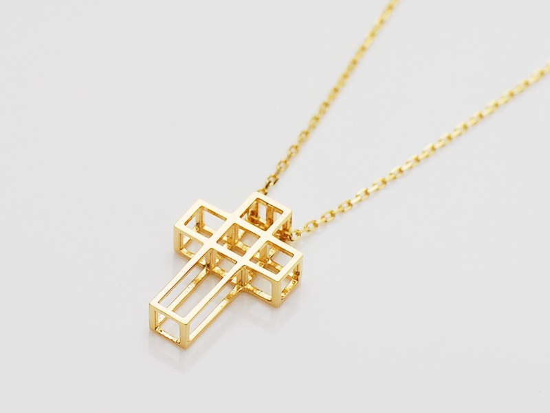 C.C NECKLACE/K18YG