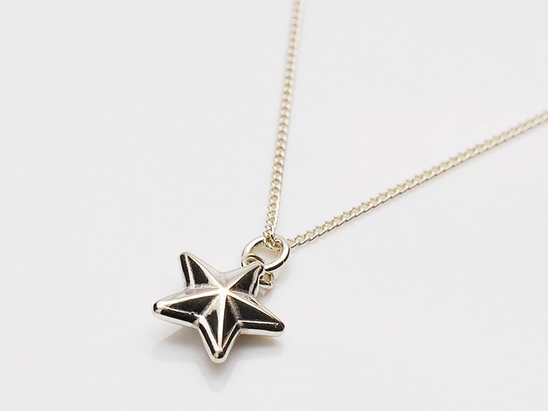 RIM STAR NECKLACE