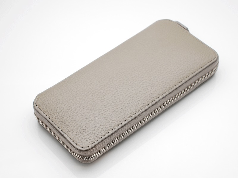 LONG ZIP WALLET/TAUPE
