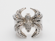 GANG SPIDER RING/CZ
