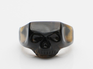 JIM SKULL RING/CRYSTAL