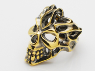 GRAFFITI HEAD RING/G