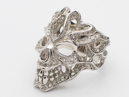 GRAFFITI HEAD RING/CZ