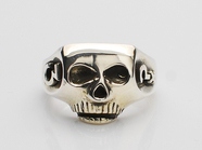 JIM SKULL RING/Johnny Depp Plain Type