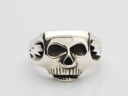 JIM SKULL RING/Jim Jarmusch Plain Type