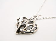 GRAFFITI FIRE FLAM PENDANT