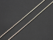 .FRENCH ROPE CHAIN 30/45cm.