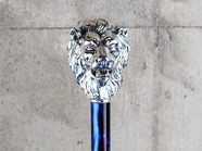 .LION HANDLE with STUDS.