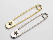 .Kilt pin the star/LARGE.