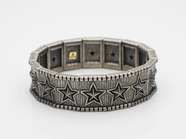 .Elastic Bangle-Star Tiles-.